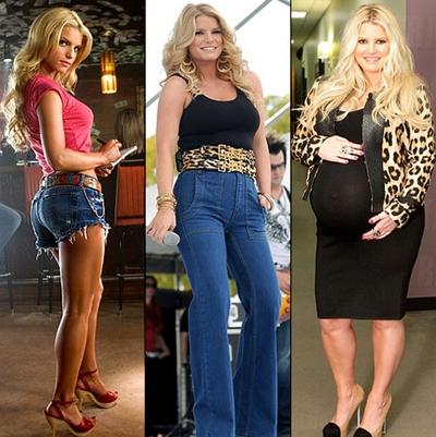 Със специална диета Джесика Симпсън свали близо 30 килограма