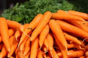 В голямо количество витамин А се съдържа в морковите