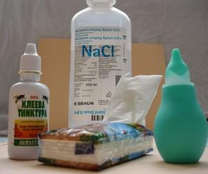 Домашни капки за нос и с прополис