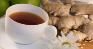 Чай с джинджифил за болки в гърлото