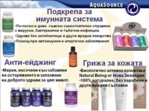 Продуктите на АкваСорс помагат за отслабване, превенция от болести, за повече енергия