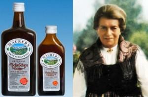 Мария Требен създала еликсира шведска горчивка по старинни рецепти