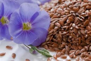 Лененото семе се използва за високо кръвно