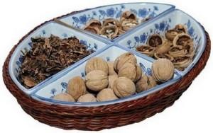 При диабет се ползват преградките на узрели орехи