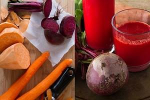 Соковете от моркови, цвекло и други зеленчуци и плодове е полезен срещу висок холестерол