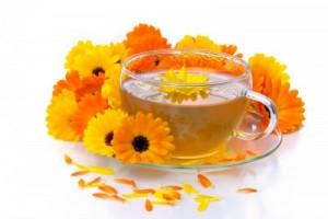 Чай от невен за киста на яйчника