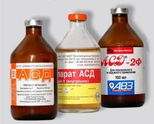 preparação natural russo ASD Drogova com farinha de osso é usado para tratar câncer de pele e outros.